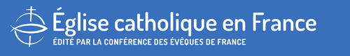 Logo site Eglise catholique en France