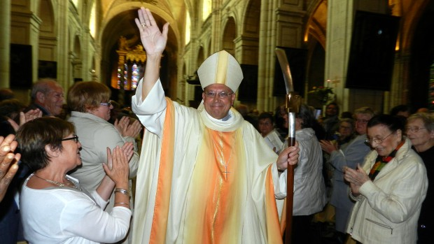 Ordination épiscopale de Mgr Gusching à Verdun