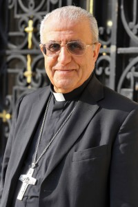 22 Septembre 2014 : Mgr Youssef Thomas MIRKIS, o.p., archev. chaldéen de Kirkouk (Irak). Mairie de Neuilly-sur-Seine (92), France. September 22th, 2014: Chaldean archbishop of Kirkuk Yousif Thomas MIRKIS. Neuilly-sur-seine (92) France.