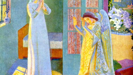 Maurice Denis : l'Annonciation